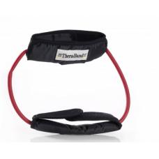 Apvali elastinė juosta su laikikliais Thera-band, raudona