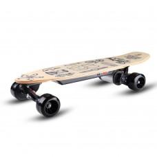 "31"" Elektrinė riedlentė / logbordas su valdymo pulteliu Skatey 150L Wood Art"
