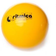 Aerobikos kamuolys Original Pezzi® Ritmica 19 cm 420 g Geltonas