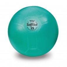 Aerobikos kamuolys PEZZI Softball MAXAFE 15 cm. Green