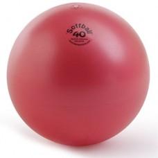 Aerobikos Kamuolys PEZZI Softball MAXAFE 40 cm, Raudonas
