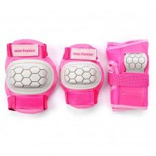 Apsaugų rinkinys METEOR PLAY pink-grey