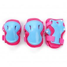 Apsaugų rinkinys METEOR ULTRA pink-blue