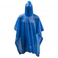 Apsiaustas nuo lietau METEOR PONCHO PVC blue