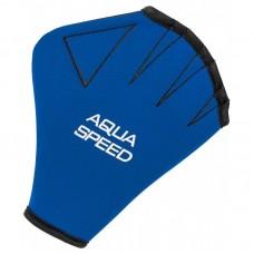 Aqua Fitneso AQUA SPEED Pirštinės Mėlynos