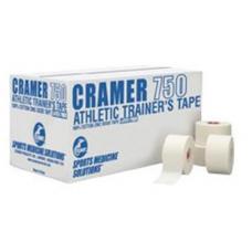 Atletinis neelastinis teipas CRAMER 750, 3,8 cm x 13,7 m