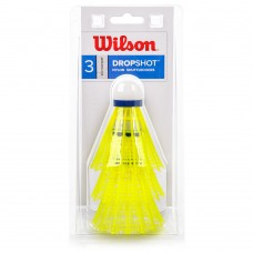 Badmintono plunksnelės WILSON WRT6048WH yellow