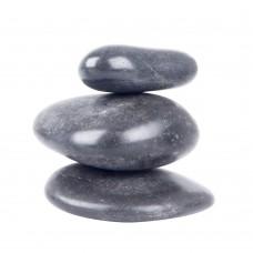 Bazalto akmenų rinkinys inSPORTline 6-8cm, 3 vnt