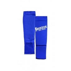 Blauzdų ir pėdų apsaugos BOXEUR BXT-SG08, mėlynos