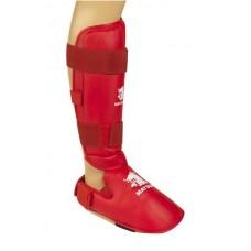 Blauzdų ir pėdų apsaugos MATSURU, raudonos