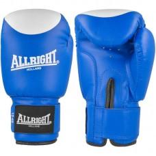 Bokso pirštinės Allright PVC 12oz  mėlyna-balta