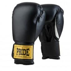 Bokso pirštinės treniruotėms PRIDE 4100, juodos