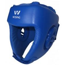 Bokso šalmas AIBA mėlynas, XL dydis