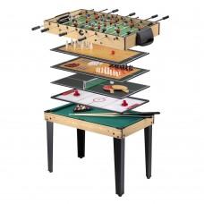Daugiafunkcis žaidimų stalas WORKER Amasor 10-in-1
