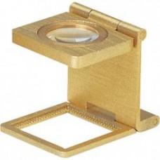 Didinimasis stiklas Linen tester 8x 20x20mm