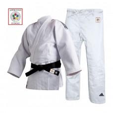 Dziudo kimono adidas Champion II, balta