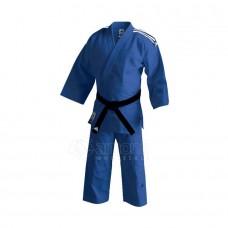 Dziudo kimono Adidas J500 Training, mėlynas
