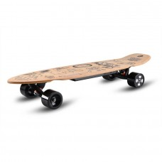 Elektrinė riedlentė Longboard Skatey 350L Wood Art