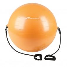 Fimnastiko kamuolys su rankenomis 65 cm