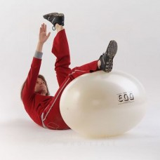 Fizioterapijos kamuolys Original PEZZI Eggball Maxafe 55x80, baltas