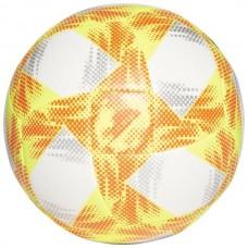 Futbolo kamuolys ADIDAS CONEXT 19 EKSTRAKLASA TOP CAPITANO ED4934 white-yellow