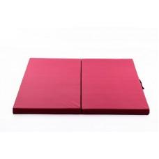 Gimnastikos čiužinys 116 x 116 cm bordo