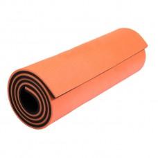 Gimnastikos Kilimėlis LunaPro Super Soft 180 cm x 60 cm, Oranžinis
