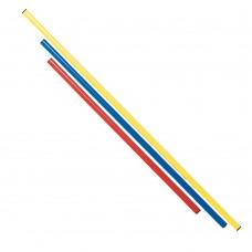 Gimnastikos lazda lazda100cm Ø 25 red
