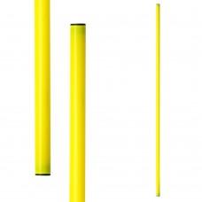 Gimnastikos lazdos METEOR 100 cm 10 vnt. geltona