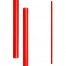 Gimnastikos lazdos METEOR 120 cm 10 vnt. raudona