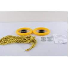 Gimnastikos žiedai švediškai sienelei