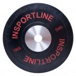 Guminis svoris grifui inSPORTline Bumper Plate 10kg