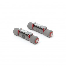 Hanteliai aerobikai Reebok Softgrip 2x1kg Red
