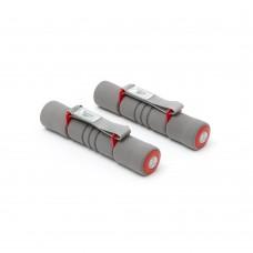 Hanteliai aerobikai Reebok Softgrip 2x2kg Red