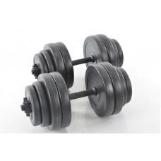 Hantelių komplektas 2x15 kg