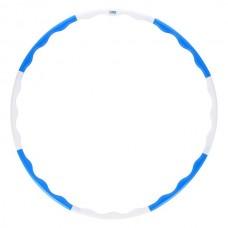 Išrenkamas lankas lieknėjimui One Fitness HHP090 mėlynas-baltas, 0,4kg, 90cm