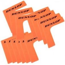 Kampai teniso kortui, 16 vnt., oranžinė