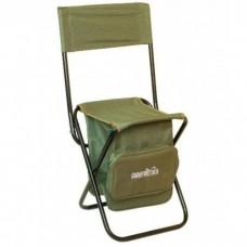 Kėdutė sulankstoma su atrama ir krepšiu