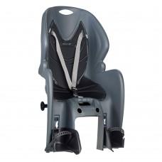 Kėdutė vaikiška AMICO ant rėmo reguliuojama pilka/juoda