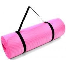 Kilimėlis PROFIT FITNESS PRO NBR 180x60x1,5 cm, rožinis