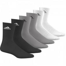 Kojinės adidas 3 Stripes Performance CR HC AA2296 6 poros