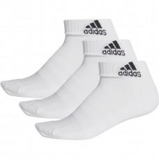 Kojinės adidas Cushioned Ankle 3PP DZ9365