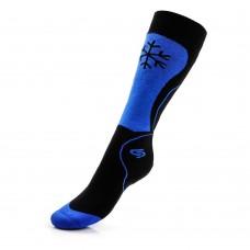 Kojinės vaikams JJW SKI KID DEODRANT black/blue