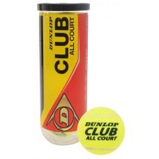 Lauko teniso kamuoliukai DUNLOP CLUB ALL COURT