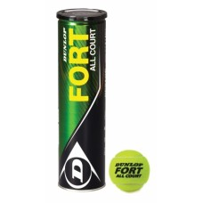 Lauko teniso kamuoliukai Dunlop Fort All Court, 4 vnt