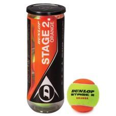 Lauko teniso kamuoliukai DUNLOP STAGE 2, 3 vnt.