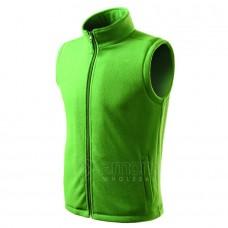 Liemenė ADLER Fleece Vest Unisex Grass Green