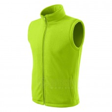 Liemenė ADLER Fleece Vest Unisex Lime Punch