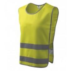 Liemenė vaikiška flourescentinė SAFETY Yellow 134 cm