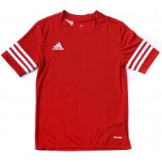 Marškinėliai adidas Entrada Junior, raudona